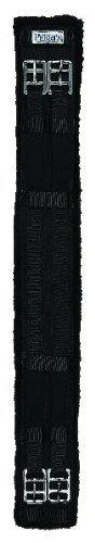 Perri's Cotton/Fleece Dressage Girth, Black, 28-Inch ()