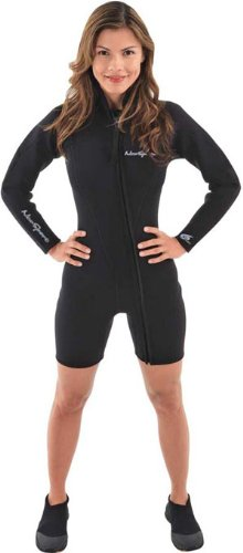 Neosport Wetsuits Women's Premium Neoprene 3mm Step-In Ja...