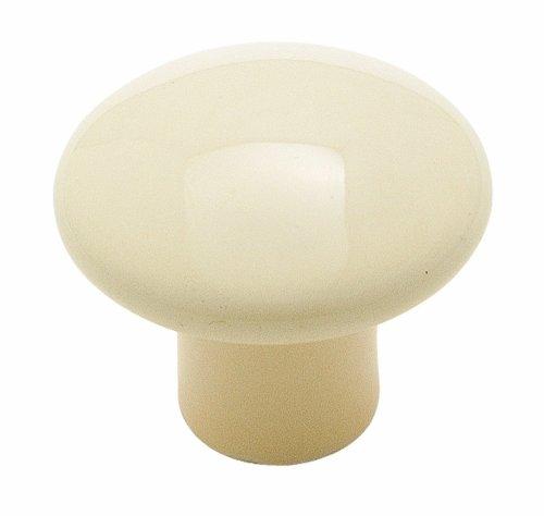 - Amerock BP725AAM Ceramic Knob, Almond, 1-3/8-Inch Diameter