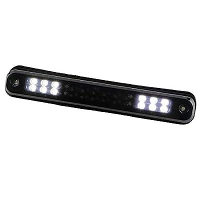 Sanzitop LED 3rd Brake Light Rear Tail Brake Light Cargo Lamp Replacement Fit for 1988-1998 Chevy GMC C/K C10 1500-3500 Silverado Sierra 16521970 16522433 (Black Housing Smoke Lens): Automotive