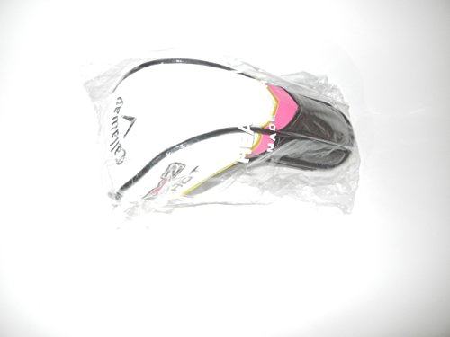 Callaway X2 Hot Ladies Hybrid Headcover (Black/White/Pink) Golf (Pink Headcover)