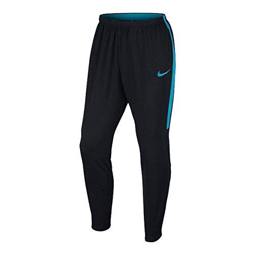 迷彩冷蔵する良いナイキ NIKE メンズ サッカー ロングパンツ ACADEMY DRI-FIT KPZ パンツ 839364-020 BLACK/BLACK/LT BLUE FURY/LT BLUE FURY