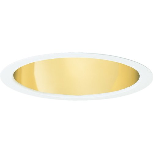 Progress Lighting P8115-22A Specular Gold Finish Baffle 9-Inch Outside Diameter, Gold - Alzak Finish