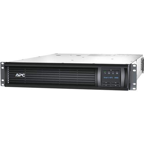 APC American Power Conversion Smart-UPS 3000VA LCD Rackmount 2U 120V Battery Backup & Surge Protector with SmartConnect, 459 (Apc Ups Rackmount Rail)