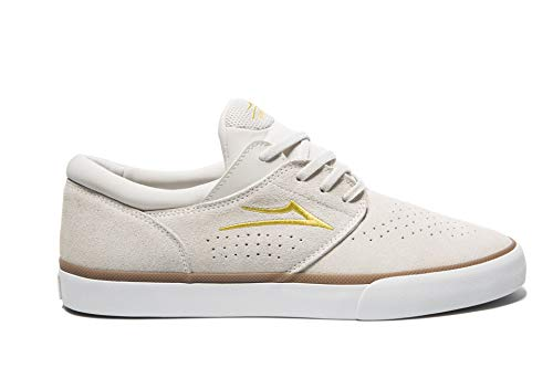 Lakai Footwear Summer 2019 Fremont Vulc White Suede Size 10.5 Tennis Shoe, M US
