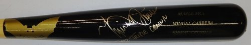 Miguel Games Cabrera (Miguel Cabrera Autographed Sam Bat Game Model Bat with