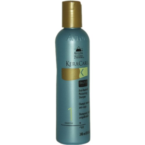 Avlon Keracare Dry and Itchy Scalp Anti-dandruff Moisturizing Shampoo, 8 Ounce Keracare Moisturizing