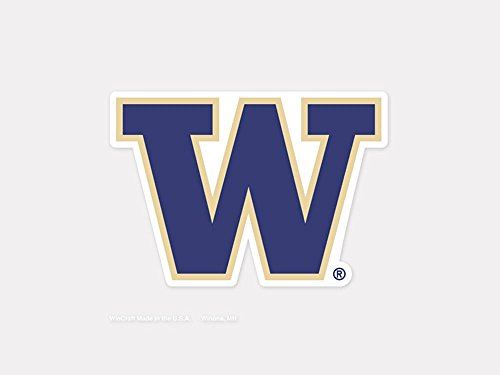 (WinCraft NCAA University of Washington Perfect Cut Color Decal, 4