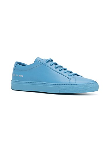Progetti Comuni Uomini 15283890 Sneakers In Pelle Blu