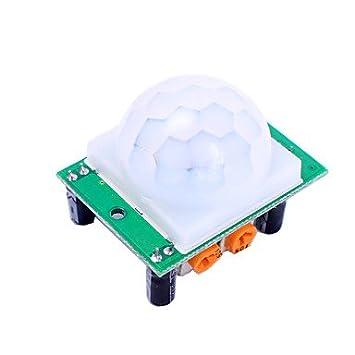 ULIAN Módulos/sensores de Arduimo accessonries para Módulo Sensor de Detección de Movimiento Infrarrojo Arduino