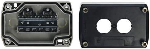 Schneider Electric XALD02 Caja Vacia 2 Taladros: Amazon.es: Industria, empresas y ciencia