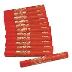 Dixon Ticonderoga 52000 Red Lumber Crayon