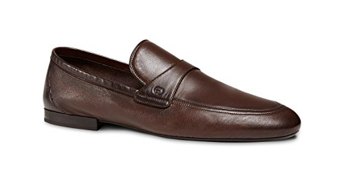 Gucci Men's Unlined Nappa Leather Slip-on Loafer, Brown (Cocoa) 368468 (US 8.5 (Gucci/UK 7.5))
