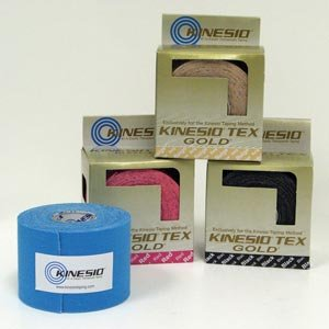 Kinesio® Tex GoldTM Tape TWO Rolls 2'' x 16.4' Red (Looks Pink)