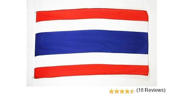 AZ FLAG Bandera de Tailandia 90x60cm - Bandera TAILANDÉSA 60 x 90 cm: Amazon.es: Hogar