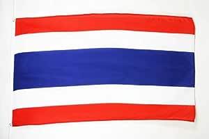 AZ FLAG Bandera de Tailandia 150x90cm - Bandera TAILANDÉSA 90 x 150 cm: Amazon.es: Hogar