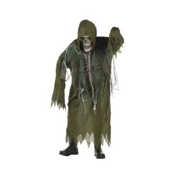 RG Costumes Swamp Creature Costume, Green, Medium