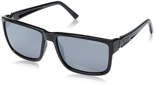 Tifosi Hagen XL 1270400270 Sunglasses, Gloss Black, 55 - Wayfarer Shopping Online Sunglasses