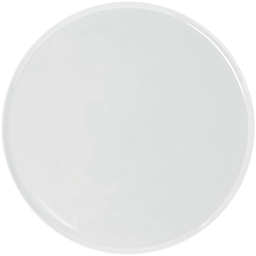 Elite Global Solutions M145P-NW Round White Melamine Platter -14 1/2 Dia x 1