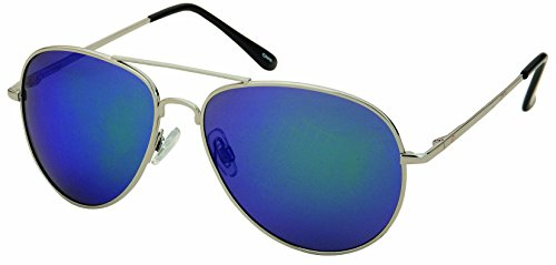 Cole Filtration (Unisex Classic Aviator Polarized Light Weight Metal Super Awesome Sunglasses)