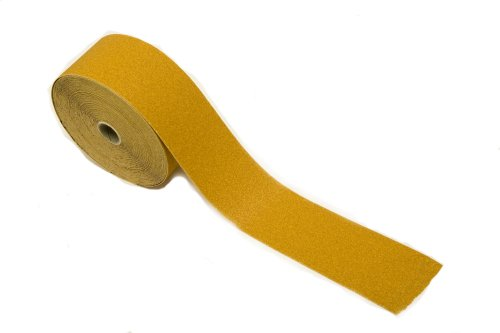Kassteel 23-204-180 PSA with Liner 180 Grit Aluminum Oxide''Sticky-Back'' Rolls, 20 Yards