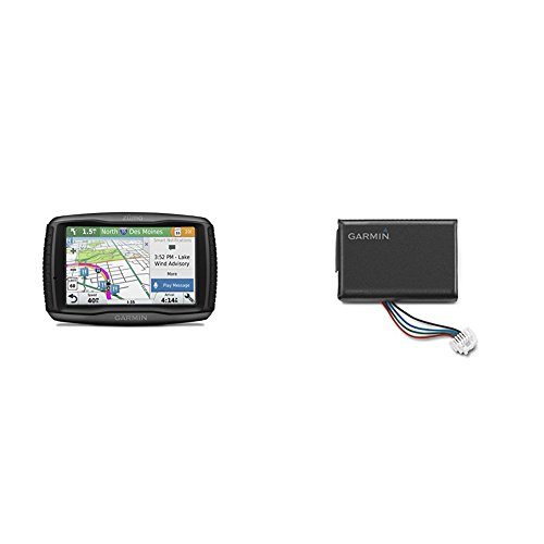 Garmin Zumo 595LM and Extra Battery Bundle by