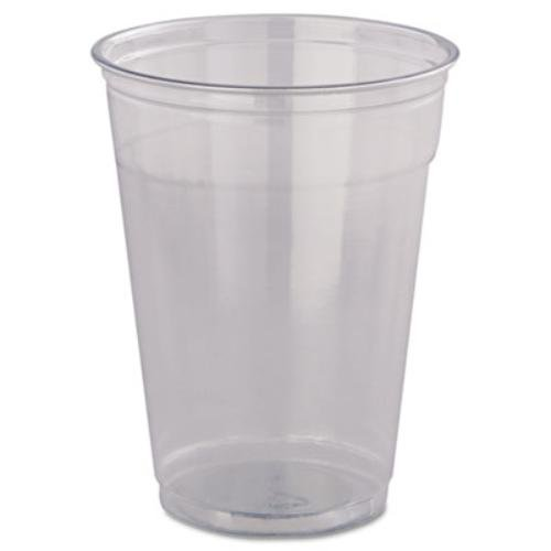Dart TP22 12 oz Flush-fill Ultra Clear PET Plastic Cup (Case of (22 Ounce Cup Case)