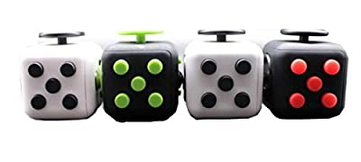 Fidget Box Anxiety & Stress Release Toy - Fidget Box To Express Hyperactivity, Calm Down, Increase Focus - Fidget Cube ADHD Clicker Toy For Children & Adults