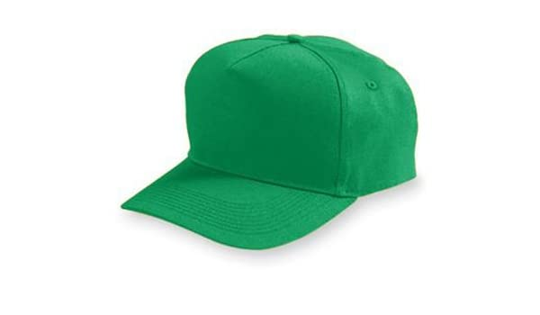 6207 Augusta Sportswear Youth 100/% Cotton 5 Panel Low Profile Twill Cap