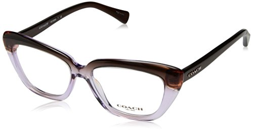 COACH Women's 0HC6090 Purple/Brown One - Sunglasses Prescription Coach
