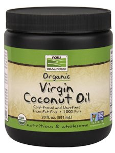 NOW Foods - Virgin Coconut Oil 20 fl oz by NOW Foods