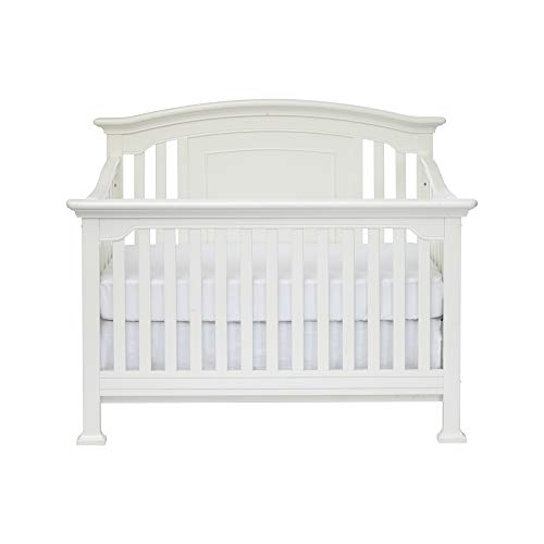 Centennial Medford 4 in 1 Convertible Crib White (Furniture Kingsley Bedroom)