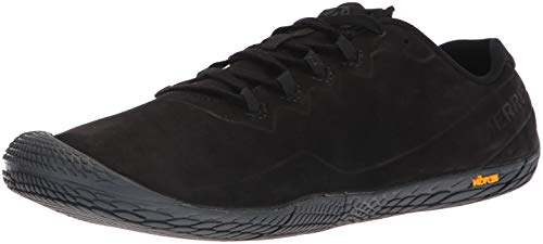 Merrell Women's Vapor Glove 3 Luna Leather Sneaker, Black, 7 M US
