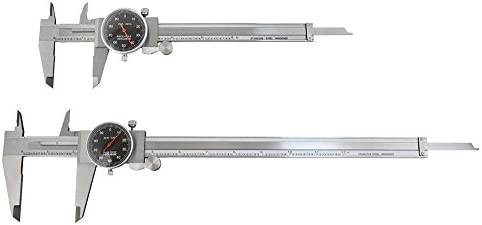 4/'/' X 0.001/'/' Precision Dial Caliper Stainless Steel 2DAY SHIP Accusize