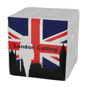 canap londres avec le drapeau anglais deco londres. Black Bedroom Furniture Sets. Home Design Ideas