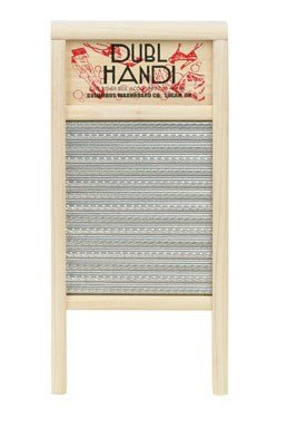 Dubl Handi Washboard 8-5/8'' X 18'' Overall Wood Bulk
