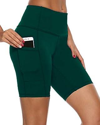 NEW Yoga Basic Gym Active Fitness Soft Stretchy Mini Foldover Shorts Work Out