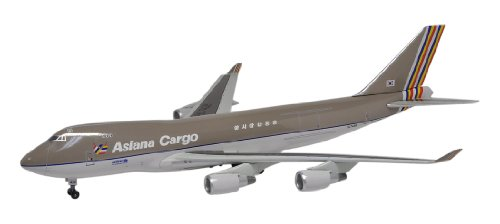 Dragon Models Asiana Cargo B747-400F HL7436 Diecast Aircraft, Scale 1:400