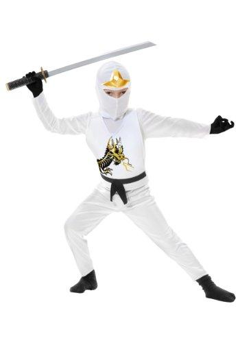 White Ninja Avenger II Toddler Costume by Charades