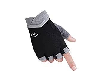 Fishroll Guantes de Yoga Transpirable Sports Fitness Guantes ...