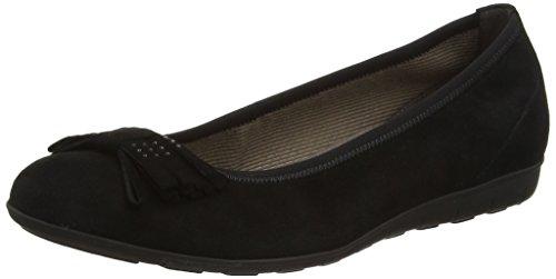 Gabor Shoes Fashion, Bailarinas para Mujer Negro (schwarz 17)
