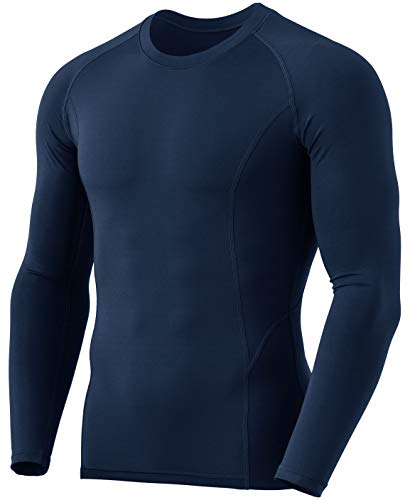 TSLA Men's Thermal Long Sleeve Compression