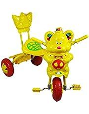 دراجة اطفال بثلاث عجلات أصفر