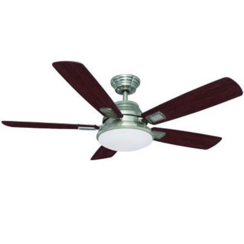 Hampton Bay 52 In. Latham Brushed Nickel Ceiling Fan