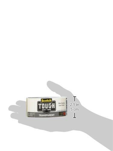 051131980112 - Scotch Tough Transparent Duct Tape, 1.88 in. x 20 yd. carousel main 1