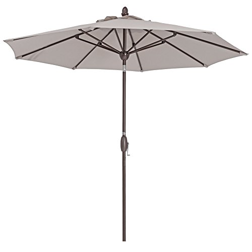 Cheap  Patio Umbrella 9 Feet Patio Market Table Umbrella with Push Button Tilt,..