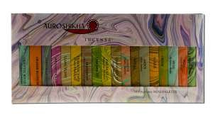 Incense Sampler (Auroshikha Incense Classic Marbled 18 Fragrance Sampler)