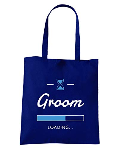 Speed Shirt Borsa Shopper Blu Navy MAT0036 GROOM LOADING