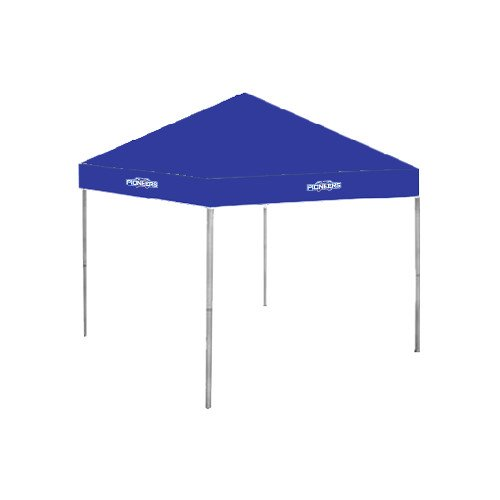 Wisconsin Platteville 9 ft x 9 ft Royal Tent 'Official Logo' by CollegeFanGear