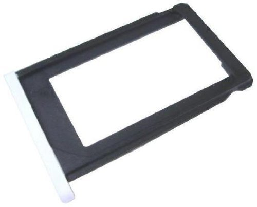 White SIM Card Tray Holder for Iphone 3g 3gs